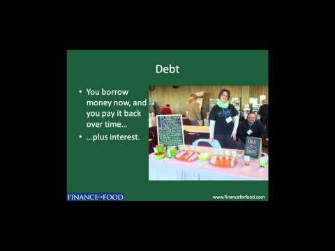 Elizabeth Ü on Financing Food Businesses