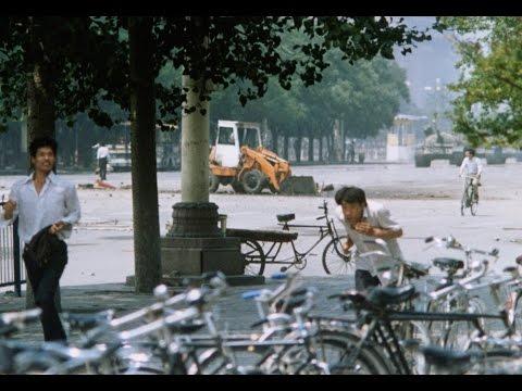 Tiananmen Square 1989: Rob Dawber's BBC Radio recordings