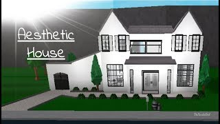 ROBLOX | Welcome to Bloxburg: Aesthetic House Speedbuild