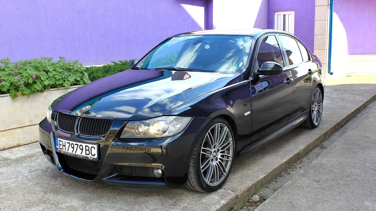 bmw 320d e90 m pack youtube