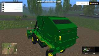 Farming Simulator 2015 JOHN DEERE 7760 COTTON PICKER!