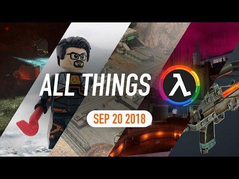 Half-Life 2: Ep 1 Cut Content, Gordon Freeman Lego Figure And More - All Things Lambda (Sep 20 2018)