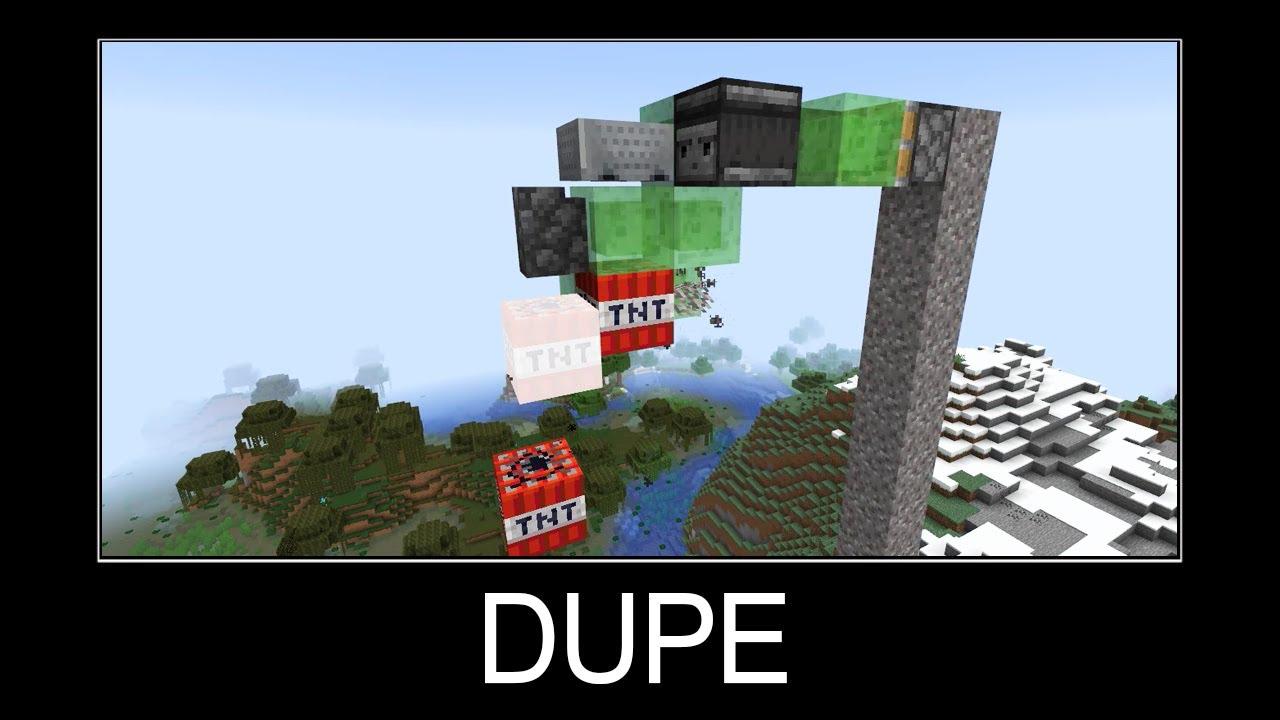 Download Minecraft wait what meme part 119 (dupe TNT)