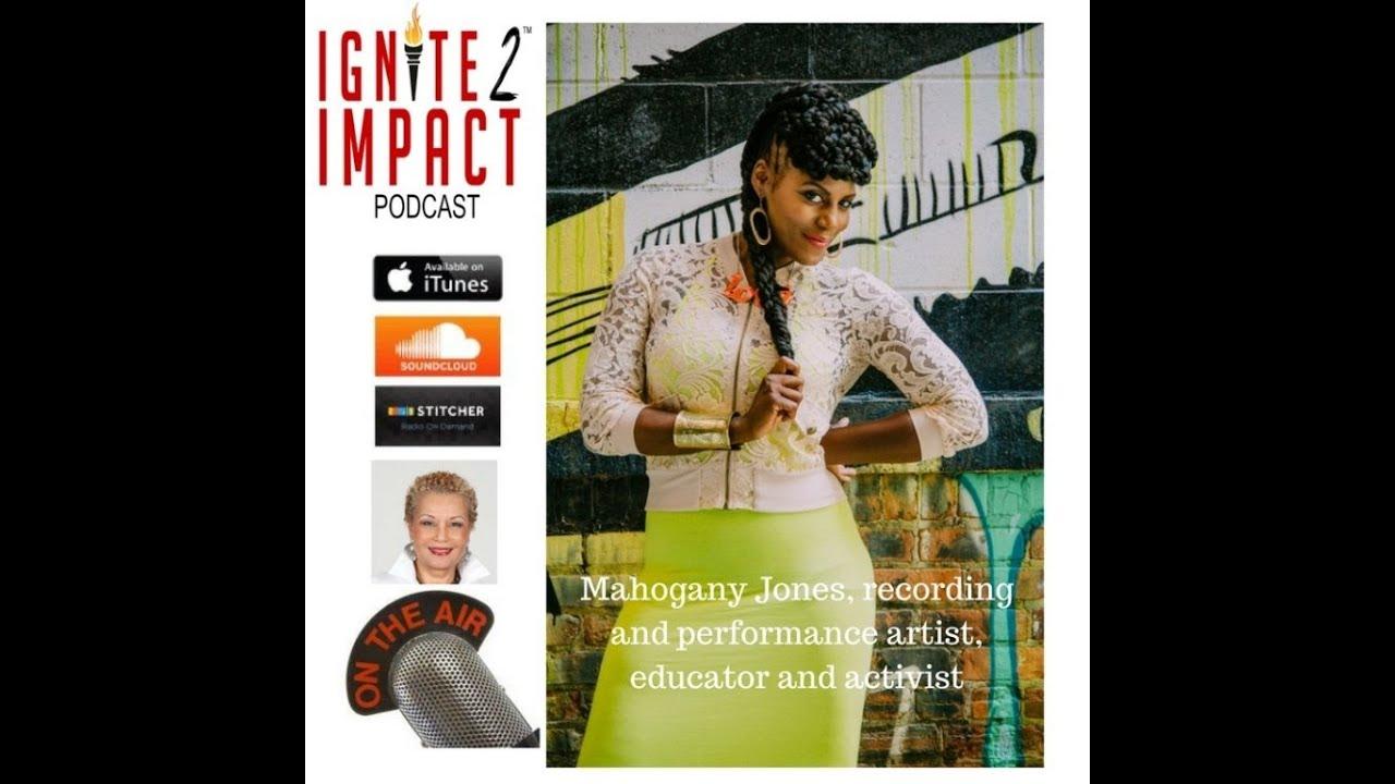 Mahogany Jones: Swirling Arts, Education and Activism Ep. 6
