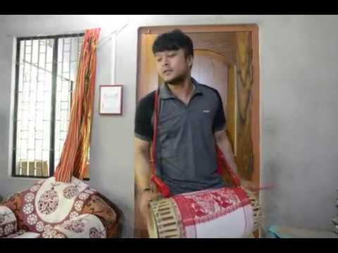 Assamese Dhol Badan Learn how to play dhul instantly#beginners 🔥🔥