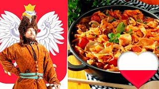 Бигос (BIGOS из Варшавы.) по польски,  блюдо сытное, простое и вкусное.