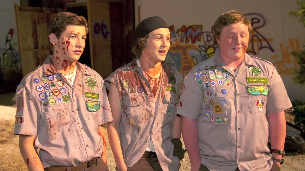 Empire Visits Scouts Guide To The Zombie Apocalypse | Movies | Empire