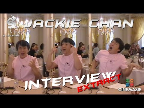 Jackie Chan Interview - Paris 2005 (Extract 3 - Hollywood)