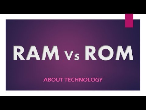 RAM vs ROM : Difference between them along with their types