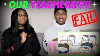 "TheOdd1sOut ""My Teachers"" REACTION!!!"