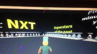 WWE 2K16 (NXT update) on ROBLOX
