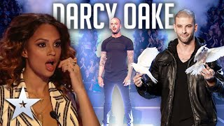 ALL PERFORMANCES from illusionist Darcy Oake! | Britain's Got Talent