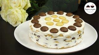 Торт ПОДАРОК МАМЕ  Простой рецепт торта на 8 Марта
