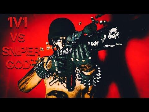 """(GTA 5 ONLINE) 1V1 AGAINST A """"SNIPER GOD"""" (Self proclaimed)"""