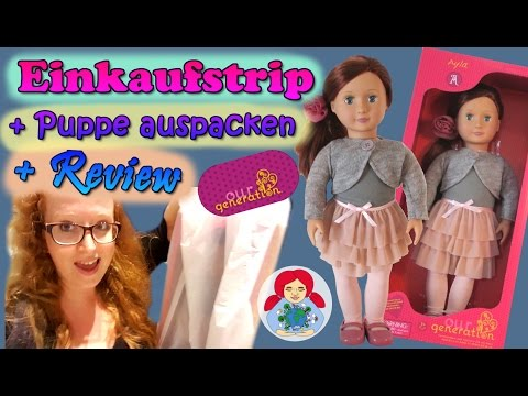 Meine Erste Our Generation Puppe • Unboxing + Review   Mini VLog