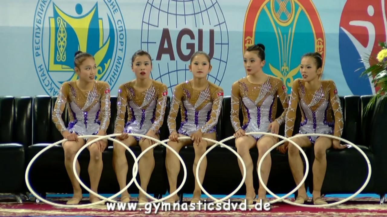 Asian Championships Astana 2017 - Seniorgroups All Around Top 3