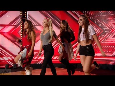 The X Factor UK 2016 Week 3 Auditions Girl Next Door Full Clip S13E05