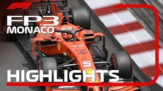 2019 Monaco Grand Prix: FP3 Highlights