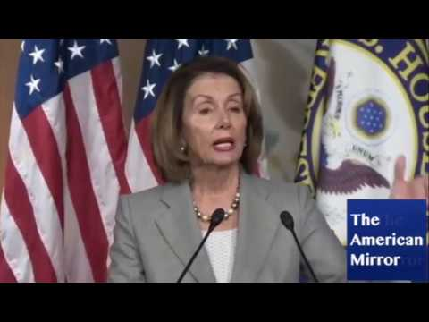 Nancy Pelosi suffers face spasms, brain freezes, flubbed words during attack on GOP tax plan