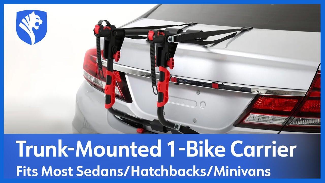 tyger trunk mount 1 bike carrier installation