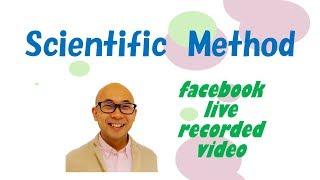 Scientific Method【facebook live】 thumbnail