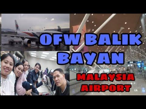 Ofw Balik bayan || Malaysia airport Kuala Lumpur || my travel episode