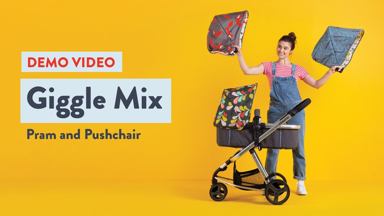 Giggle Mix - The Pattern-Changing Pram