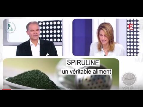 2016 - La spiruline française à l'honneur dans les médias.