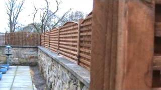Trellis Fence At Corbridge By Pondguru
