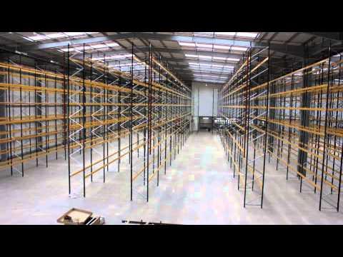 Pallet Racking System - Bespoke Installation [Time Lapse Video]