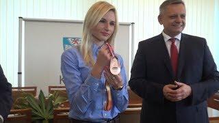Małgorzata Hołub z brązowym medalem u prezydenta Miasta Koszalina