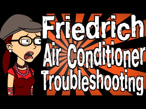 Friedrich Air Conditioner Troubleshooting Youtube