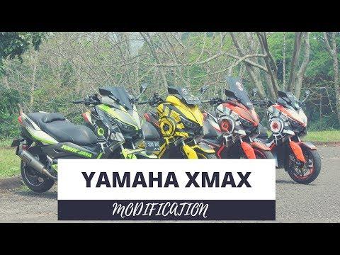 Kerennya Modifikasi Yamaha XMax Ala Yonk Jaya Motor Bandung