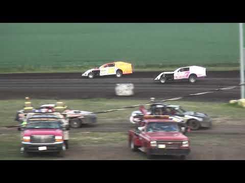 IMCA Modified Heat 2 Benton County Speedway 8/11/19