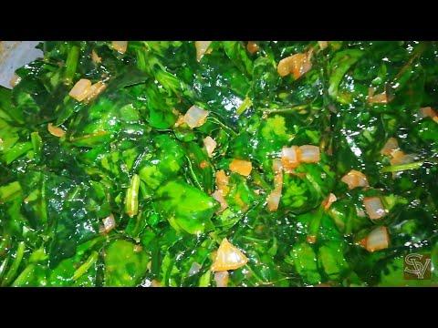 КАК ВКУСНО ПРИГОТОВИТЬ ШПИНАТ / Spinach