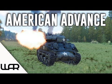 AMERICAN ADVANCE - OPERATION UNTHINKABLE (ARMA 3 WWII) - EPISODE 4