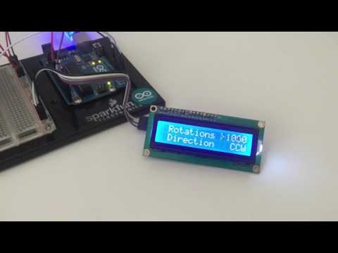 Arduino LCD 16x2 interactive menu + rotary encoder WITH CODE