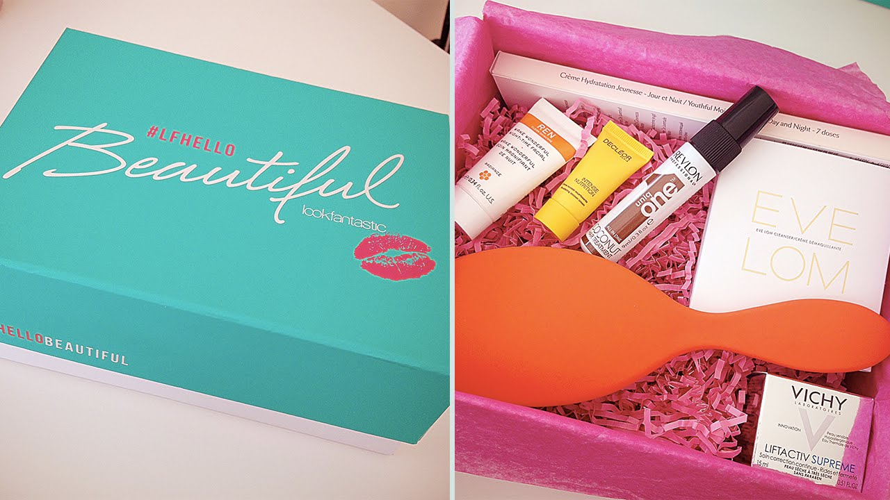 May 2016 Lookfantastic Beauty Box Unboxing | Rachael Divers - YouTube
