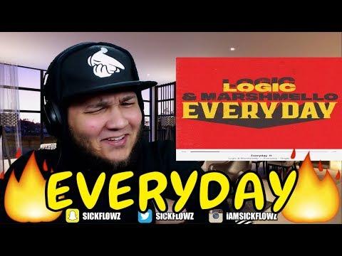 🔥🔥 REACTION!! 🔥🔥 Logic - Everyday