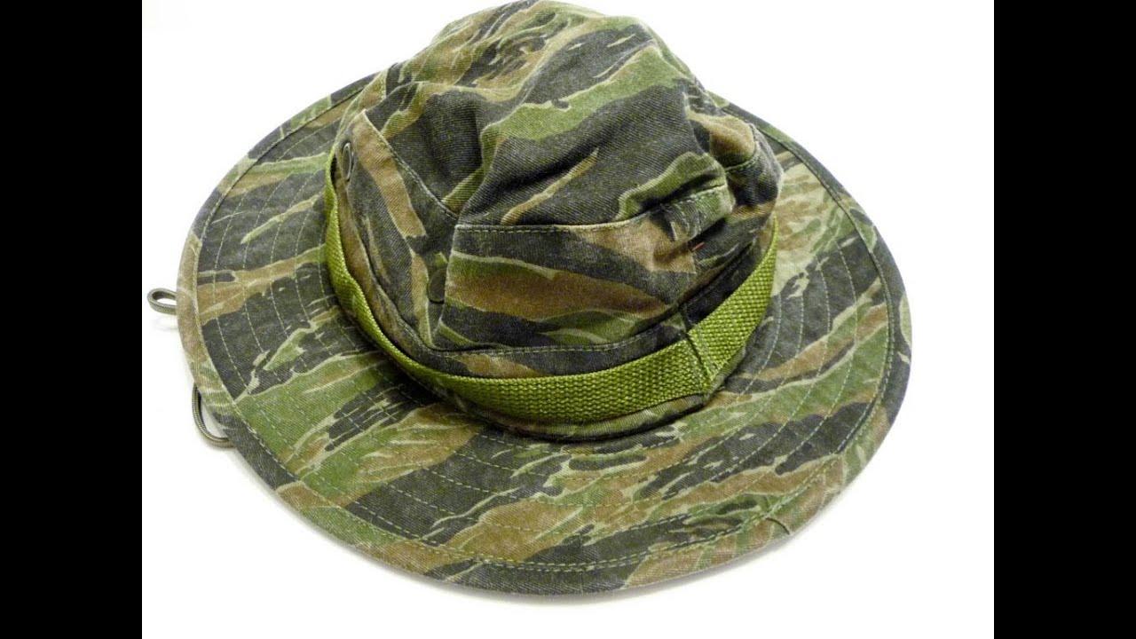 Vietnam Tiger Era Jungle Boonie Bush Hat Hats War Us Army