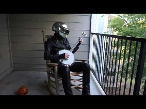 Aerodynamic by Daft Punk on the Banjo
