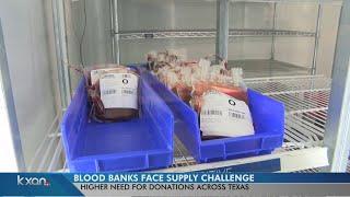 Flu causing blood donation shortage in Texas