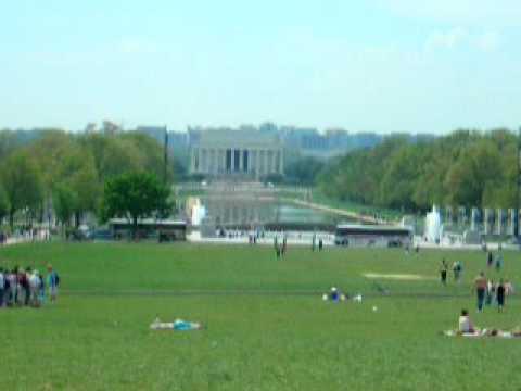 Washington Monument-April 2009,  and 93 degrees F.