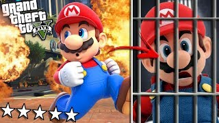 SUPER MARIO goes to PRISON for LIFE (GTA 5 Mods)