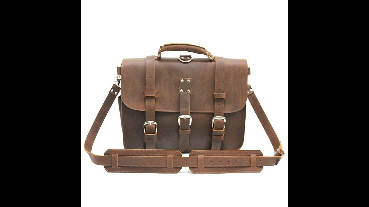 de 5· leather hombre briefcase bolsos Vintage ruavintage 16 nXP776