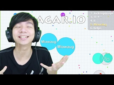 Agar.io - Indonesia GamePlay IOS / Android by Miawaug - 동영상