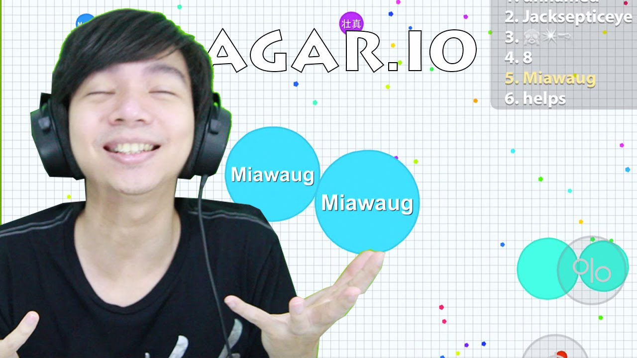 Agar.io - Indonesia GamePlay IOS / Android by Miawaug