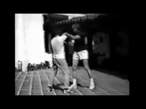 Bruce Lee and James Coburn Chi Sau