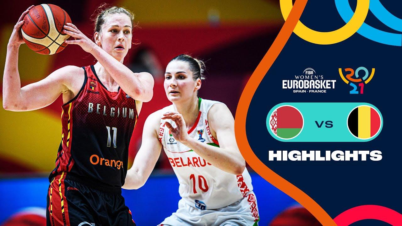Belarus - Belgium   Full Highlights   3rd Place Game