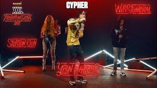 YBN Nahmir, Stefflon Don and Wifisfuneral's Cypher - 2018 XXL Freshman thumbnail